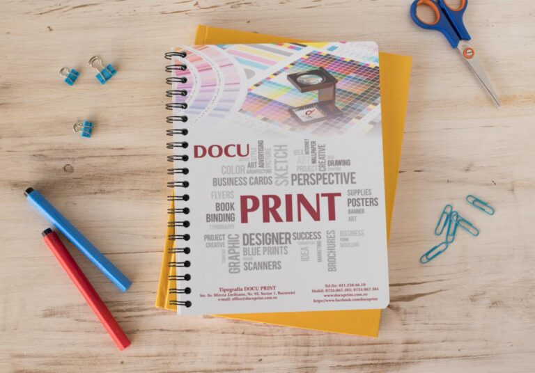 Caiete personalizate Docu print