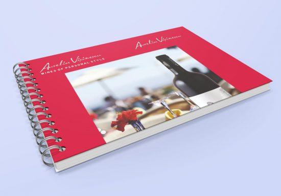 Caiete personalizate vinuri