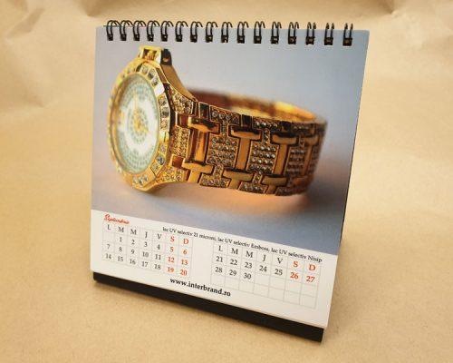 Calendar cu insertii