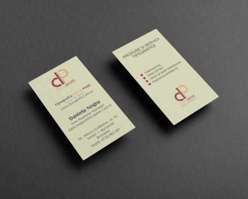 Carti de vizita online, lux, cu striatii pe carton special atipic de 400 g