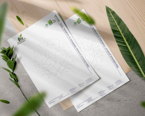 Design si printare coli cu antet