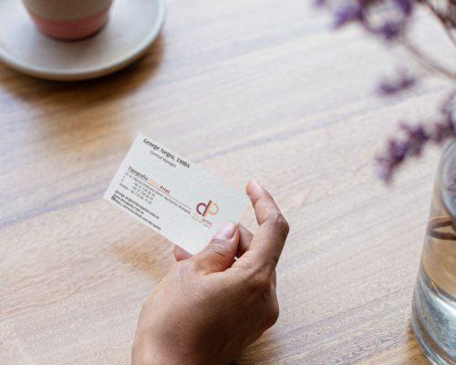 Mostra tipar carti de vizita online