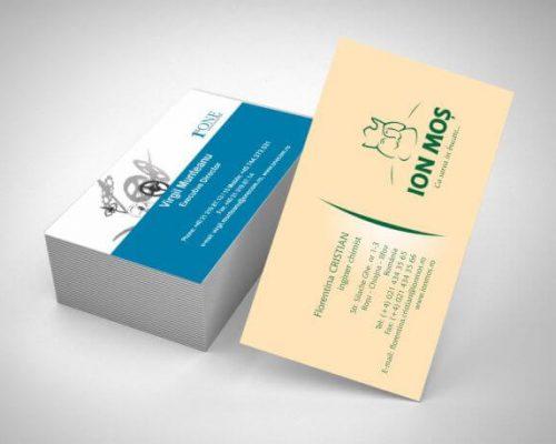 carti de vizita carton special colorat